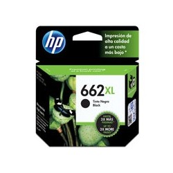 HP 662XL CARTUCHO DE TINTA NEGROALTO RENDIMIENTO
