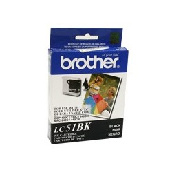 tinta Negro BROTHER 51