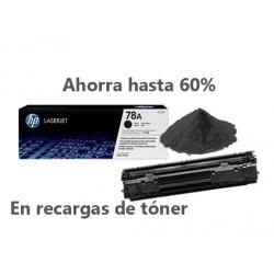 Recarga de Toner HP CE278A- 78