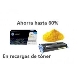 Recarga de Toner HP  A6002A -124A