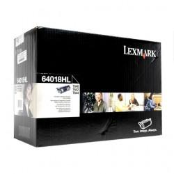 Tóner Negro Lexmark - 64018HL